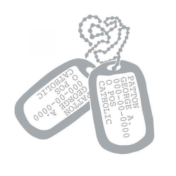 5209 Custom Military Dog Tags