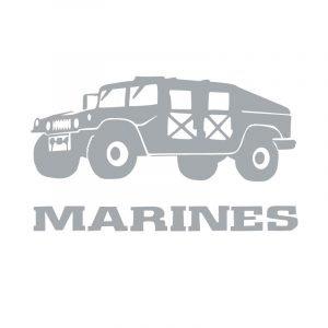 5225 Marines with Humvee