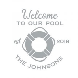 3072 Welcome to the Pool Life Ring