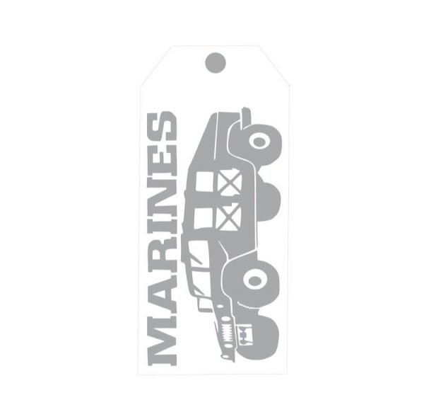 TM140- A Hero Lives Here Military Door Tags
