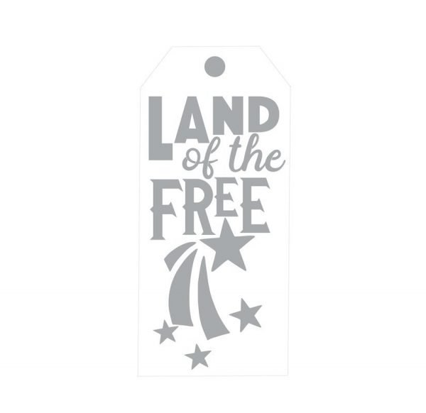 TM143- American Pride Door Tags