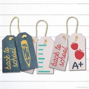 TM141- Back to School Door Tags