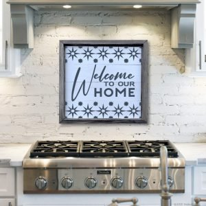 5346 Welcome to our Home Starburst