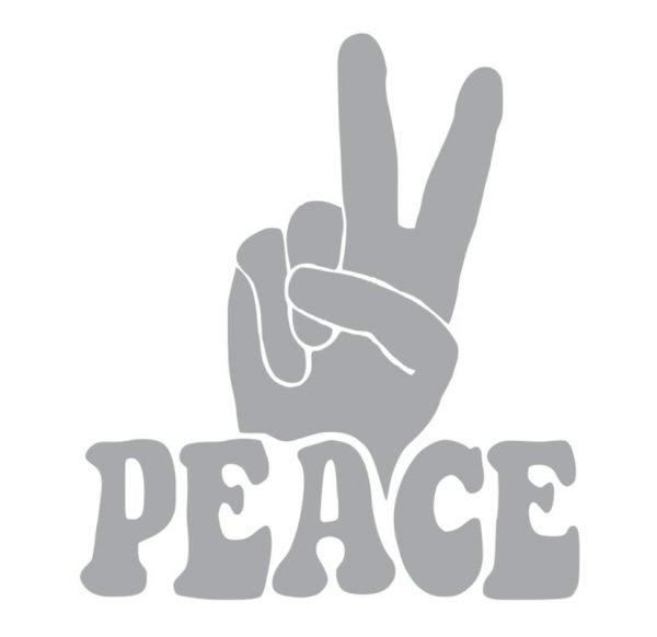 6086 Peace Sign