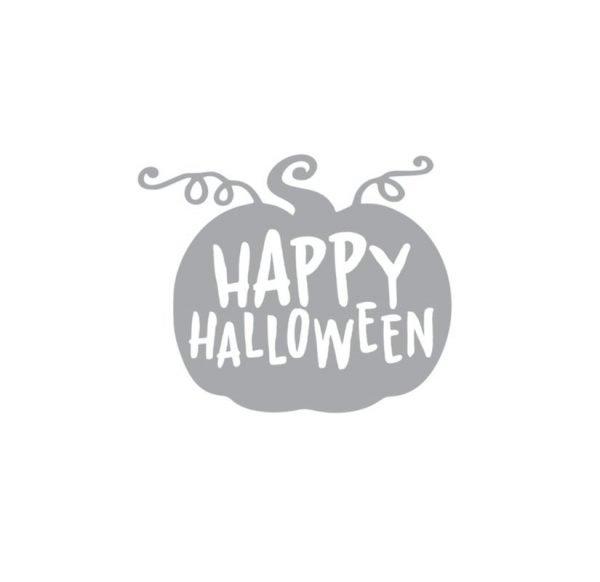6091 Happy Halloween Pumpkin